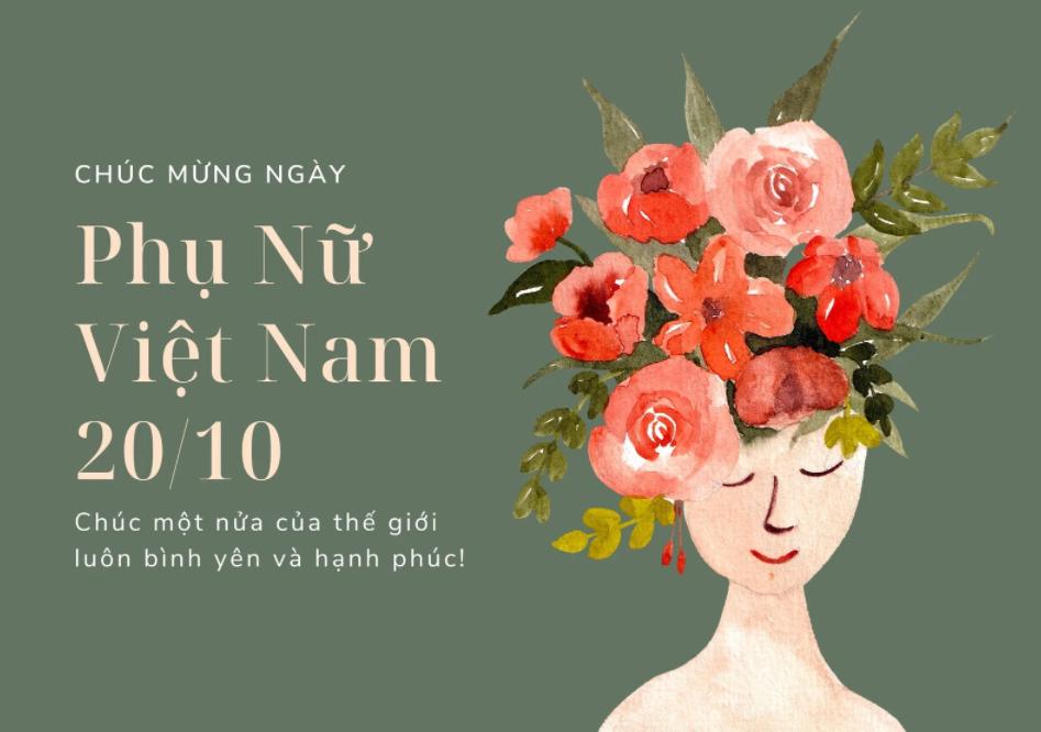 ANK   Chào mừng ngày Phụ nữ Việt Nam 20/10!
